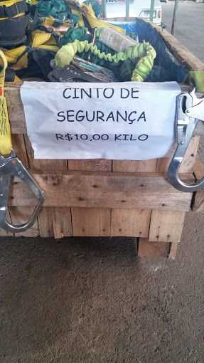 Cintos de Segurança usados, venda do kit.