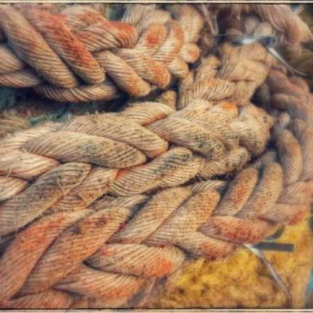 Corda/cabo naval para decoração