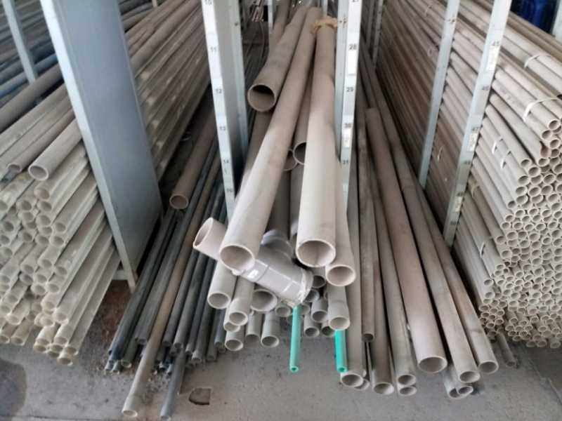 Tubo de PVC em diversas medidas